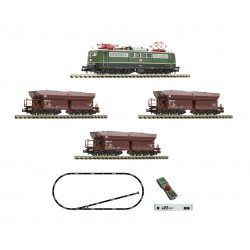 Set de iniciación digital z21 start con locomotora electrica 151 y tren de mercancias, DB. Fleischmann 931896