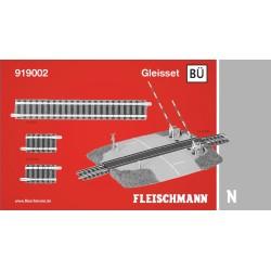 Pack paso a nivel. Set BÜ. Ref 919002 (Fleischmann N Balasto)