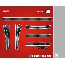 Set ampliación Ü2. Ref 919004 (Fleischmann N Balasto)