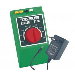 Regulador analógico con transformador.  Ref 6725 (Fleischmann)