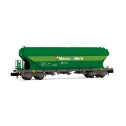 "RENFE, TT5 hopper wagon, green ""MercoNidera"" livery, period V  - Arnold HN6471"