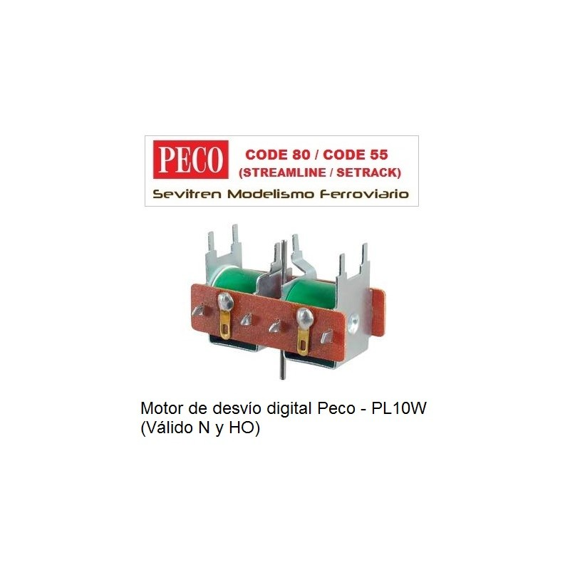 PL-10W Turnout Motor for Low Amperage Power Supply
