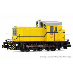 "RENFE, diesel shunting locomotive 10393, yellow ""azvi"" livery, period V, digital - Arnold HN2508"