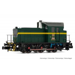 RENFE, diesel shunting locomotive 303-040-0, dark green/yellow livery, period IV - Arnold HN2509