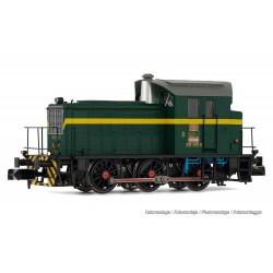 RENFE, diesel shunting locomotive 303-040-0, dark green/yellow livery, period IV, digital - Arnold HN2509D