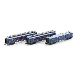 Set 3 coaches CIWL Simplon-Express Ep.II, Set nº1 - Hobbytrain H22106