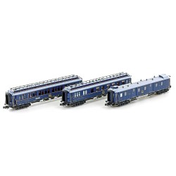 Set 3 coaches CIWL Simplon-Express Ep.II, Set nº2 - Hobbytrain H22107