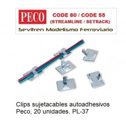 PL-37 Cable Clips (Pack of 20)