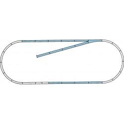 H0, ROCO LINE track set B -...
