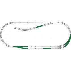 H0, ROCO LINE track set C - Roco 42011