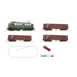 H0, Starter Set, digital z21, Electric locomotive class 140 and goods train, DB  - Roco 51330