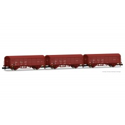 RENFE, 2-unit pack JPD wagon, oxid red livery, period IV - Arnold HN6527