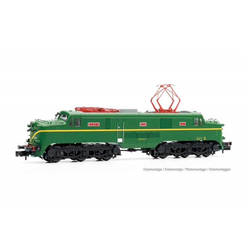 RENFE, electric locomotive 277 011-3, green livery, digital with sound, period IV - Arnold HN2443S