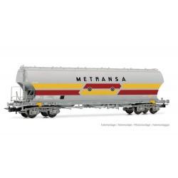 "RENFE, 4-axle round-sided hopper wagon ""METRANSA"", original livery, period IV- Electrotren HE6021"