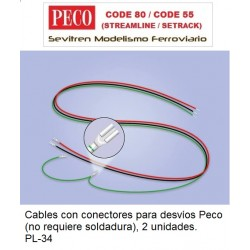 PL-34 Wiring Harness for PL-10 Series Turnout Motors