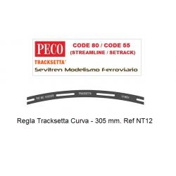 """Tracksetta N Template 12"""" Radius - NT12"""