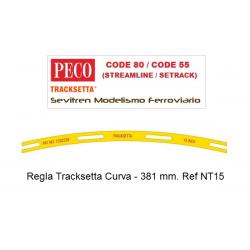 """Tracksetta N Template 15"""" Radius - NT15"""