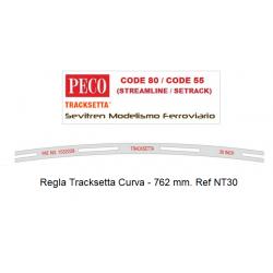"""Tracksetta N Template 30"""" Radius - NT30"""