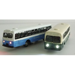 Blister 2 metal buses with...