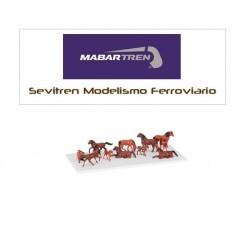 Blister 12 horses - Mabar,...