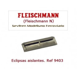 Isolating rail joiner. Ref 9403 (Fleischmann N)