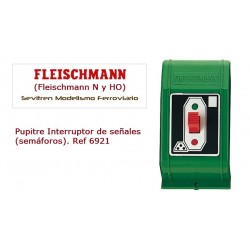 Push-button switch for signals. Ref 6921 (Fleischmann N y HO)