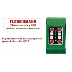 Impulse push-button switch (for 4 tracks).Ref 6922 (Fleischmann N y HO)