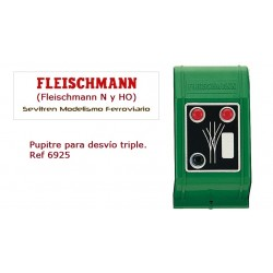 Three-way point switch. Ref 6925 (Fleischmann N y HO)