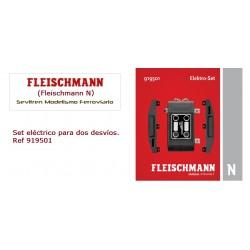 Electro Set to retrofit manual turnouts with electric drive.  Ref 919501 (Fleischmann N)