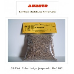GRAVEL. Heather beige color. Aneste- Ref 102