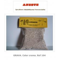 GRAVEL. Cream. Aneste- Ref 104