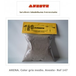 SAND. Medium gray color. Aneste- Ref 147
