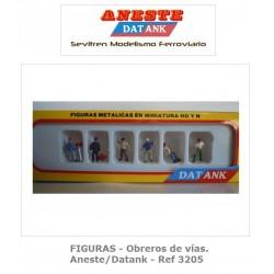 FIGURES - Road workers - Aneste - Datank. Ref 3205