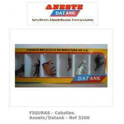 FIGURES - Horses - Aneste - Datank. Ref 3206