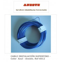 INSTALLATION CABLE 10 METERS SUPERFINE - Blue color - Aneste. Ref 6012