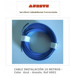 INSTALLATION CABLE 10 METERS - Blue color - Aneste. Ref 6002