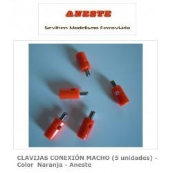 CLAVIJAS CONEXIÓN MACHO (5...
