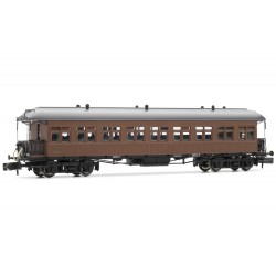 Coche pasajeros Costa, 2nd clase, RENFE, techo americano - Arnold HN4230