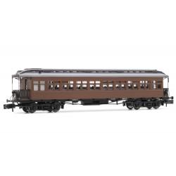 Coche pasajeros Costa, 3rd clase, RENFE, techo con linternon - Arnold HN4234