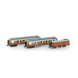 3-tlg. CIWL Set 1 Simplon-Express Ep.I - Hobbytrain H22102