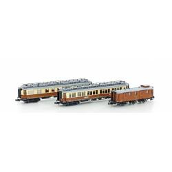 3-tlg. CIWL Set 2 Simplon-Express Ep.I - Hobbytrain H22103