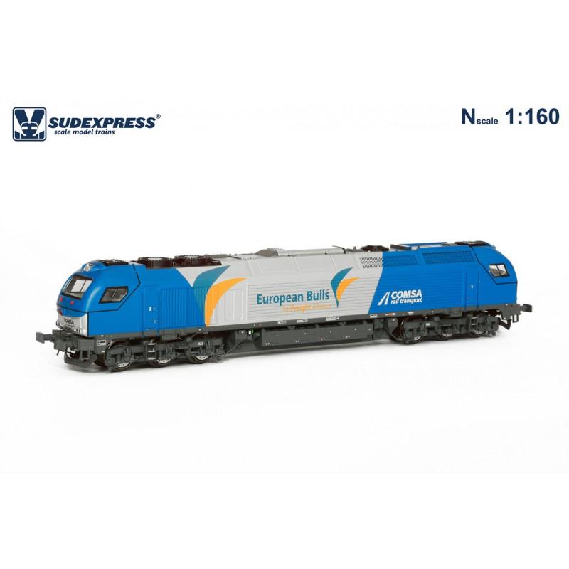 Vossloh Euro 4000 Comsa Rail 335.001 - Sudexpress SCOM500116N