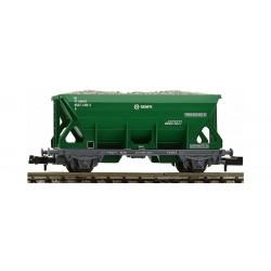 Vagón para balasto (de color verde), RENFE. Ref 850902 (Fleischmann N)
