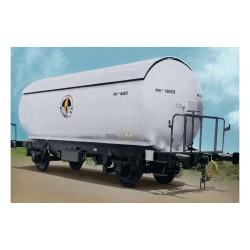 "R.N., 2-unit pack PR gas tank wagon, silver/black ""Butano S.A."" livery, period III - Arnold HN6472"