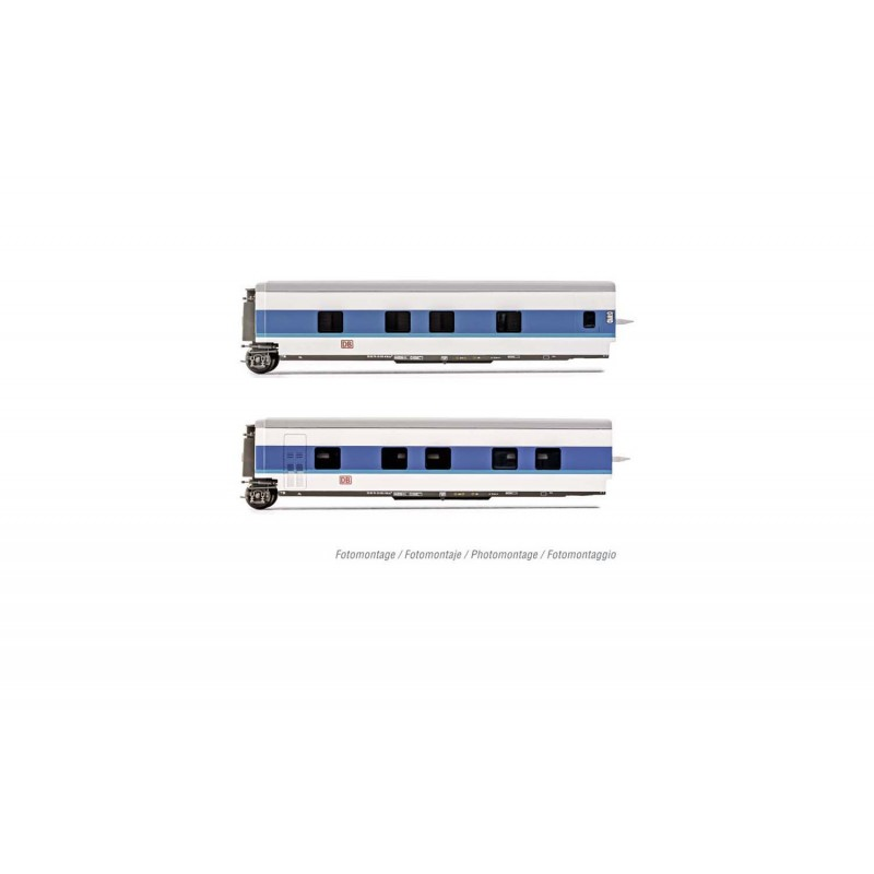 "DB AG, set of 2 additional sleeping coaches Talgo ""InterCityNight"", blue/white livery, period V - Arnold HN4311"